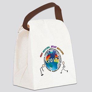 physical therapy 2013 SHIRT Canvas Lunch Bag