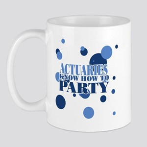 Actuaries know how to party  Mug