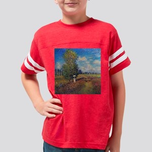 Claude Monet Poppy Field In S Youth Football Shirt
