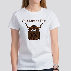 Custom Cartoon Yak T-Shirt