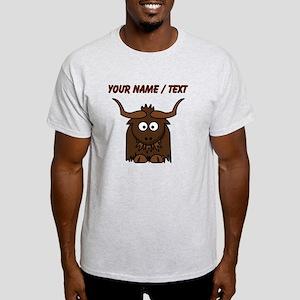 Custom Cartoon Yak T-Shirt