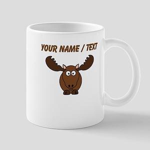 Custom Cartoon Moose Mugs