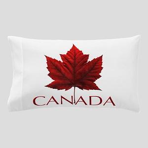 Canada Flag Maple Leaf Pillow Case
