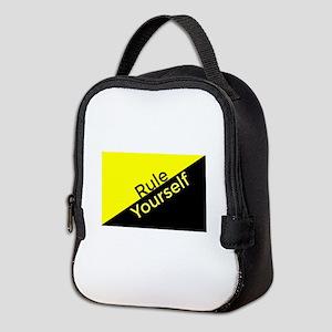 Ancap Flag Edit 4_1 Neoprene Lunch Bag