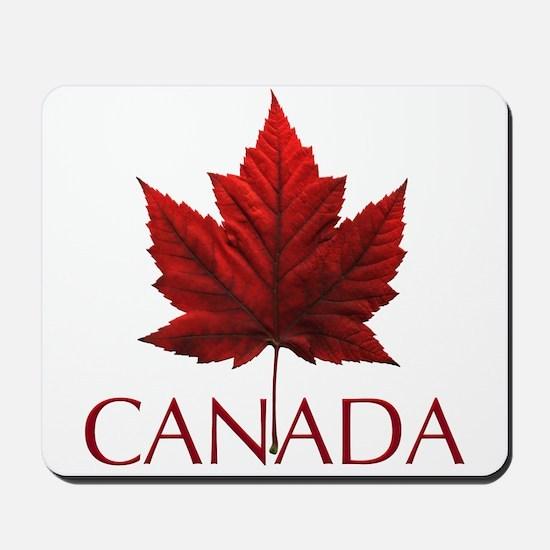 Canada Flag Maple Leaf Mousepad