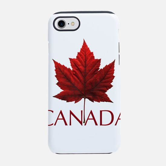 Canada Flag Maple Leaf iPhone 7 Tough Case