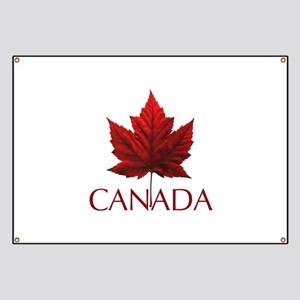 Canada Flag Maple Leaf Banner