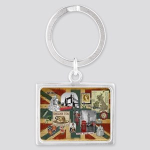 Anglophile's Landscape Keychain Keychains
