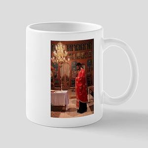 Romanian Orthodox Christian Priest Mugs