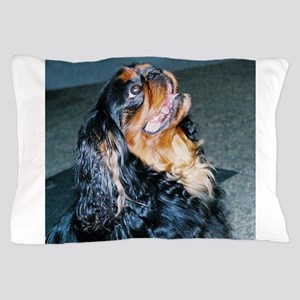 english toy spaniel Pillow Case