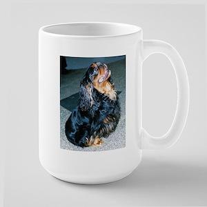 english toy spaniel sitting Mugs
