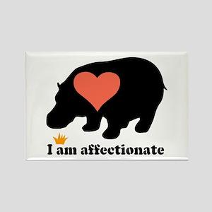 I Am Affectionate Rectangle Magnet