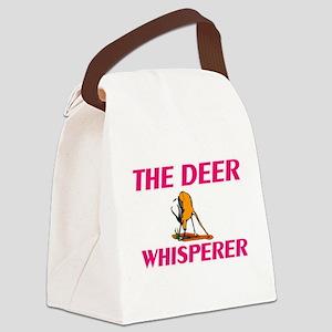 The Deer Whisperer Canvas Lunch Bag