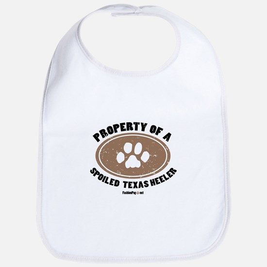 Texas Heeler dog Bib