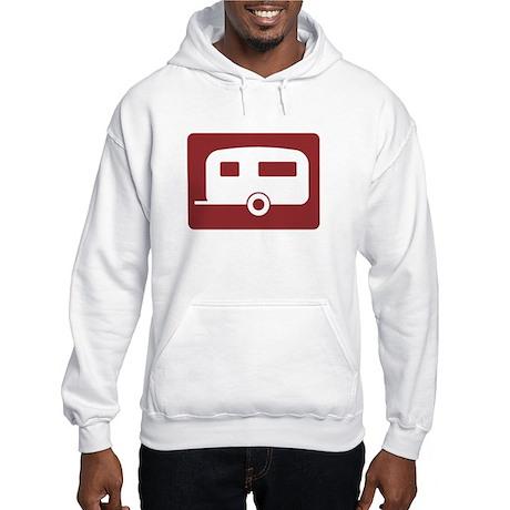 Caravan Site, UK Hooded Sweatshirt