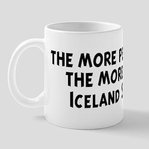 Iceland Sheepdog: people I me Mug