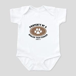 Taco Terrier dog Infant Bodysuit