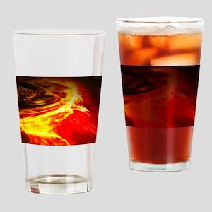 Hunger games mockingjay pin Drinking Glass