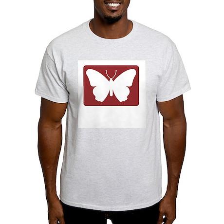 Butterfly Farm, UK Ash Grey T-Shirt