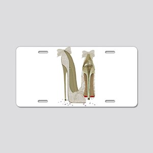 Wedding High Heel Stilettos Art Aluminum License P
