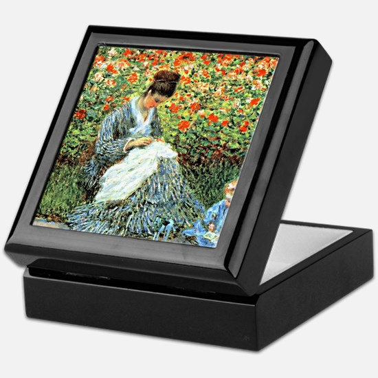 Camille Monet and Child Keepsake Box
