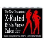 The X-Rated Bible Verse Wall Calendar