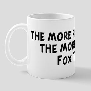 Fox Terrier: people I meet Mug