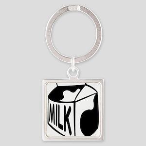Milk Carton Keychains