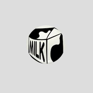 Milk Carton Mini Button