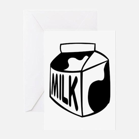 Milk Carton Greeting Cards