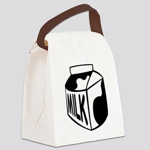 Milk Carton Canvas Lunch Bag