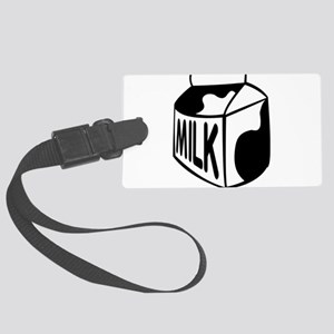Milk Carton Luggage Tag