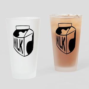 Milk Carton Drinking Glass