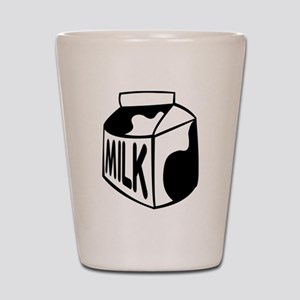 Milk Carton Shot Glass