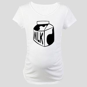Milk Carton Maternity T-Shirt