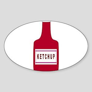 Ketchup Bottle Sticker