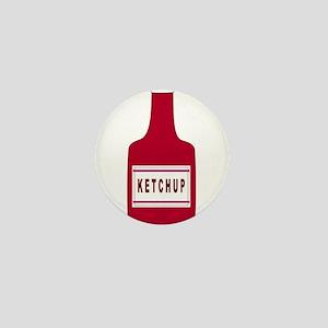 Ketchup Bottle Mini Button