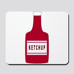 Ketchup Bottle Mousepad