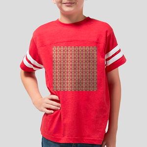 Fancy Girly Pattern Youth Football Shirt