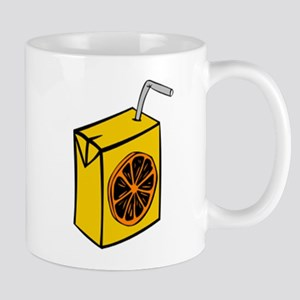 Orange Juice Box Mugs