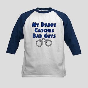 Bad Guys Kids Baseball Jersey