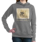 Brussels Griffon Women's Hooded Sweatshirt