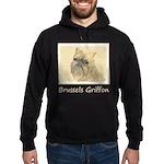 Brussels Griffon Hoodie (dark)
