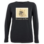 Brussels Griffon Plus Size Long Sleeve Tee