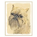 Brussels Griffon Small Poster