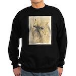 Brussels Griffon Sweatshirt (dark)