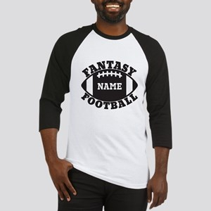 Personalized Fantasy Football Baseball Jersey