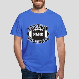 Personalized Fantasy Football Dark T-Shirt