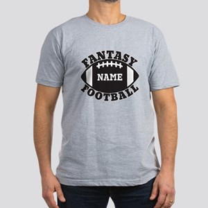 Personalized Fantasy Football Men's Fitted T-Shirt