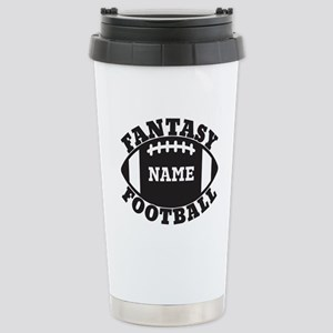 Personalized Fantasy Football Stainless Steel Trav